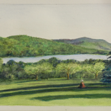 Apple Trees at Kripalu