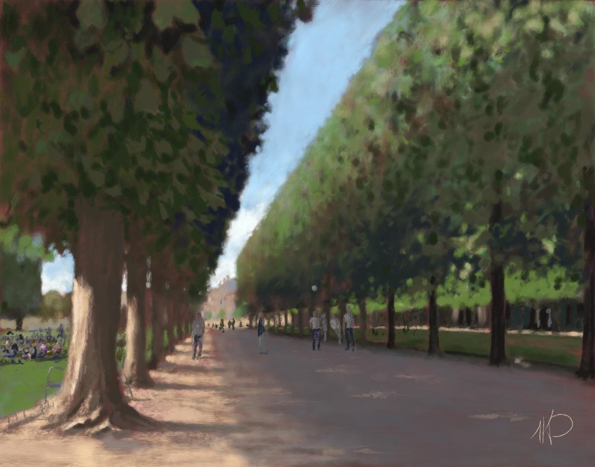 Après-midi au Jardin du Luxembourg