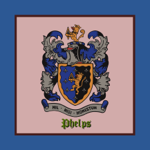 Phelps Coat of Arms, full restoration