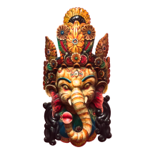 Ganesh Carving, photograph